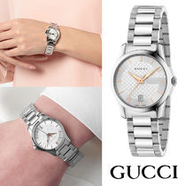 GUCCI(グッチ) G-Timeless Silver Dial Ladies YA126523
