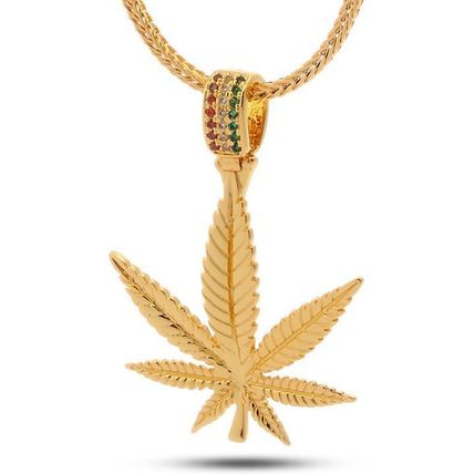 The Weed Leaf Necklace - Designed by Snoop Dogg x King Ice