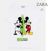 NEW ZARA♡DISNEY'S MICKEY MOUSE Tシャツ