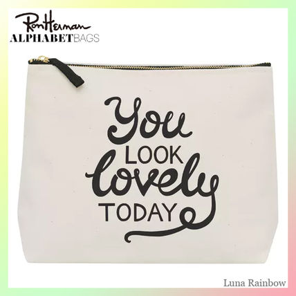 Ron Herman ポーチ ロンハーマン取扱【ALPHABETBAGS】洗面ポーチ You Look Lovely〜(2)