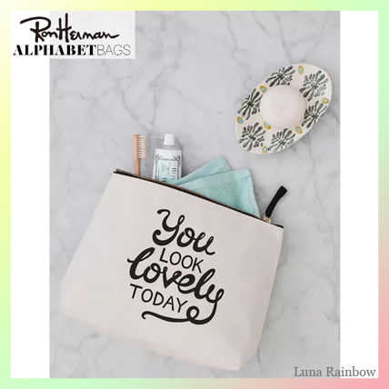 Ron Herman ポーチ ロンハーマン取扱【ALPHABETBAGS】洗面ポーチ You Look Lovely〜(4)