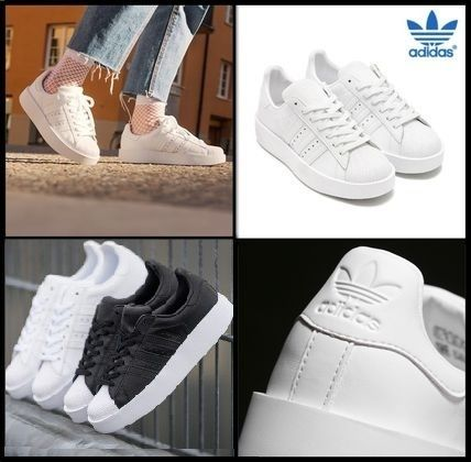 ADIDAS?SUPERSTAR BOLD W????????? ?? TRIPLE WHITE