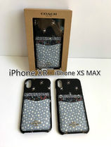即発 COACH★IPHONE XR/XS MAX ケース F68431 F68432*花柄