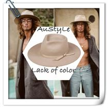 ■ Lack of color ■ The zulu (Sand) ■大人気 中折れ帽