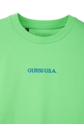 Guess Tシャツ・カットソー ☆韓国の人気☆【GUESS】☆登板 LETTERING 半袖Tシャツ☆2色☆(6)