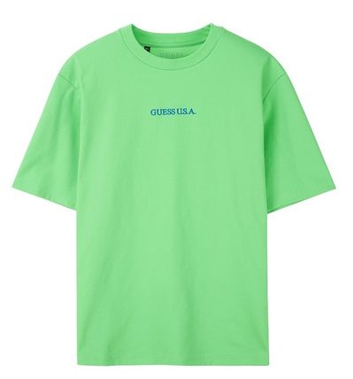 Guess Tシャツ・カットソー ☆韓国の人気☆【GUESS】☆登板 LETTERING 半袖Tシャツ☆2色☆(9)