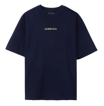 Guess Tシャツ・カットソー ☆韓国の人気☆【GUESS】☆登板 LETTERING 半袖Tシャツ☆2色☆(11)