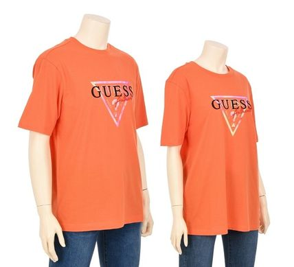 Guess Tシャツ・カットソー ☆人気☆【GUESS】☆▽ GUESS ルーズフィット 半袖Tシャツ☆3色(3)