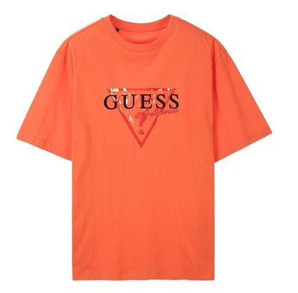 Guess Tシャツ・カットソー ☆人気☆【GUESS】☆▽ GUESS ルーズフィット 半袖Tシャツ☆3色(9)