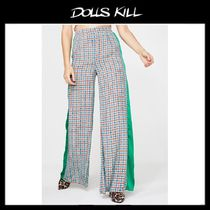 関税/送料込*DOLLS KILL*POSITIVE THINKING WIDE LEG PANTS