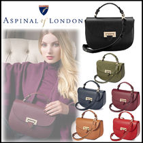 Aspinal of London(アスピナルオブロンドン) ハンドバッグ 【Aspinal of London】英王室愛用  Letterbox Saddle bag