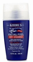 【kiehl's】for men Facial Fuel UV gard 30ml
