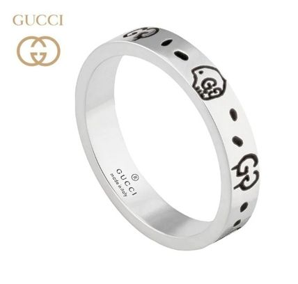 quality design ef88e 7a65a 関税込☆GUCCI☆グッチ リング ゴースト Ghost ring in silver