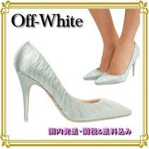 OFF-WHITE◆×Jimmy Choo Anne 100 PVCサテン パンプス