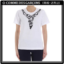 【COMME DES GARCONS】プリント コットン Tシャツ 関税・送料込