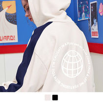 ACOVER(オコボ) ジャケットその他 [ ACOVER ] Back Earth Side Line Hood Zip-Up 2色