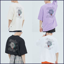 ROMANTIC CROWN★Unisex Color Easy Day Vibe T Shirt_全3色