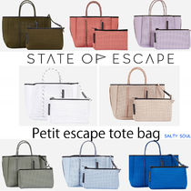 雑誌掲載! ***STATE OF ESCAPE*** Petite escape tote bag