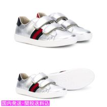 GUCCI☆ Ace laminated leather sneakers