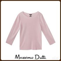 MassimoDutti♪TEXTURED SWEATER WITH VENTS