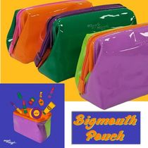 WIGGLE WIGGLE★韓国★Enamel Make-up Pouch エナメルガマポーチ