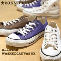 【CONVERSE】 ALL STAR WASHEDCANVAS OX ウォッシュドキャンバス
