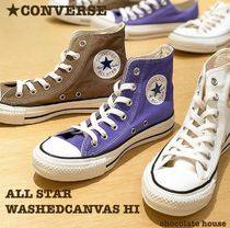 【CONVERSE】 ALL STAR WASHEDCANVAS HI ウォッシュドキャンバス