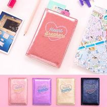 【Bentoy】Heart Breaker Pearl Passport Cover Case (4color)