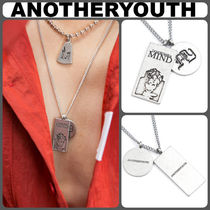 【ANOTHERYOUTH】韓国人気 新作2 pendant ネックレス/追跡送料込
