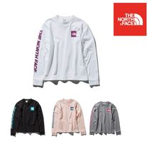 THE NORTH FACE(ザノースフェイス) Tシャツ・カットソー 国内発送 正規品【THE NORTH FACE】L/S Square Logo Sleeve Tee