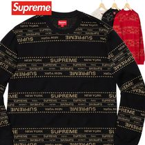 Supreme シュプリーム Metallic Jacquard Crewneck SS 19 WEEK 6