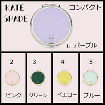 【Kate Spade】可愛い パステルカラー 選べる5色♪ コンパクト
