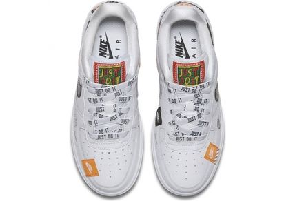 Nike キッズスニーカー SS18 NIKE AIR FORCE 1 JUST DO IT PACK GS WHITE 22.5-25cm(3)
