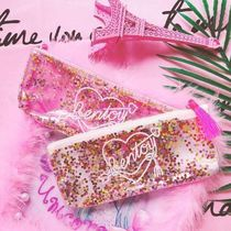 【Bentoy】Glitter Neon Sign Pencil Case (pink)