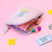 Bentoy(ベントイ) コインケース・小銭入れ 【Bentoy】Glitter Night Zipper Mini Wallet (4color)