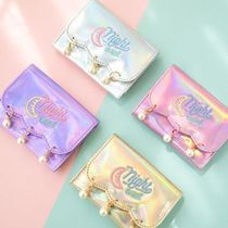 Bentoy(ベントイ) 折りたたみ財布 【Bentoy】Hologram embroidered pearl Wallet (4color)