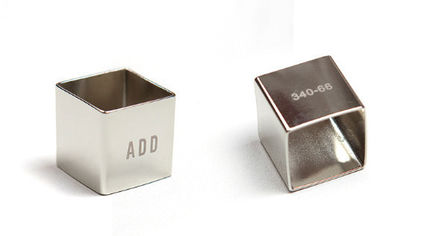 ADD SEOUL ネックレス・チョーカー ☆ADD☆ ネックレス CUBE NECKLACE SILVER(9)