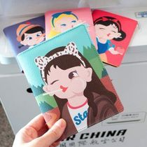 【Bentoy】Candy Girl Passport Cover Case (4color)