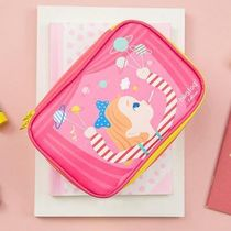 Bentoy(ベントイ) メイクポーチ 【Bentoy】Candy Girl Square Makeup Pouch (4color)