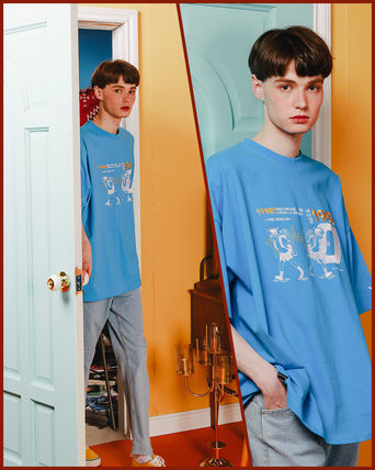 WV PROJECT Tシャツ・カットソー WV PROJECT★LOOSE FIT TIME TRAVELER半袖Tシャツ YRST7249 5色(5)