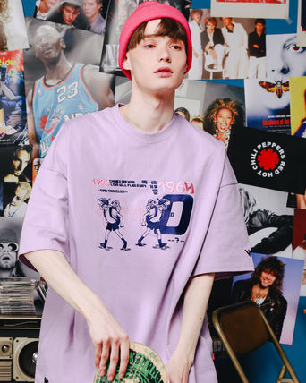 WV PROJECT Tシャツ・カットソー WV PROJECT★LOOSE FIT TIME TRAVELER半袖Tシャツ YRST7249 5色(6)