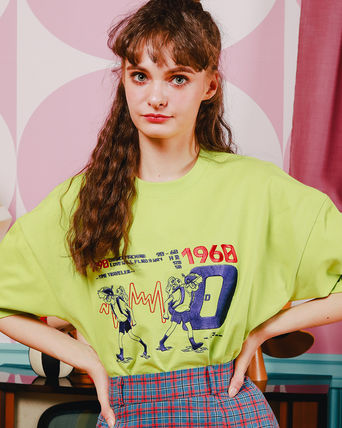 WV PROJECT Tシャツ・カットソー WV PROJECT★LOOSE FIT TIME TRAVELER半袖Tシャツ YRST7249 5色(9)