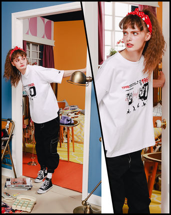 WV PROJECT Tシャツ・カットソー WV PROJECT★LOOSE FIT TIME TRAVELER半袖Tシャツ YRST7249 5色(13)