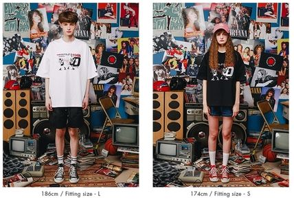 WV PROJECT Tシャツ・カットソー WV PROJECT★LOOSE FIT TIME TRAVELER半袖Tシャツ YRST7249 5色(14)