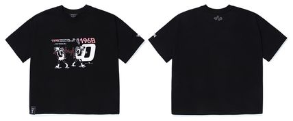 WV PROJECT Tシャツ・カットソー WV PROJECT★LOOSE FIT TIME TRAVELER半袖Tシャツ YRST7249 5色(15)