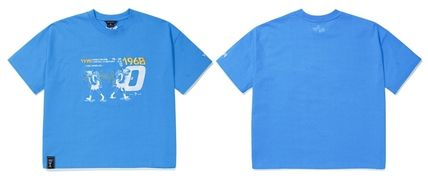 WV PROJECT Tシャツ・カットソー WV PROJECT★LOOSE FIT TIME TRAVELER半袖Tシャツ YRST7249 5色(16)
