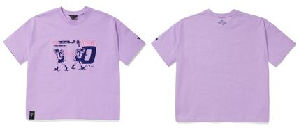 WV PROJECT Tシャツ・カットソー WV PROJECT★LOOSE FIT TIME TRAVELER半袖Tシャツ YRST7249 5色(17)