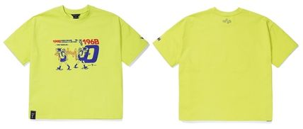 WV PROJECT Tシャツ・カットソー WV PROJECT★LOOSE FIT TIME TRAVELER半袖Tシャツ YRST7249 5色(18)