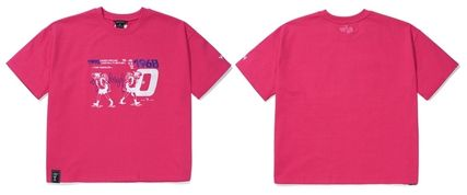 WV PROJECT Tシャツ・カットソー WV PROJECT★LOOSE FIT TIME TRAVELER半袖Tシャツ YRST7249 5色(19)