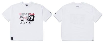 WV PROJECT Tシャツ・カットソー WV PROJECT★LOOSE FIT TIME TRAVELER半袖Tシャツ YRST7249 5色(20)